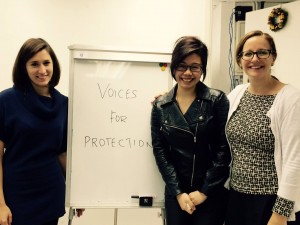 Voices for Protection staff and volunteers