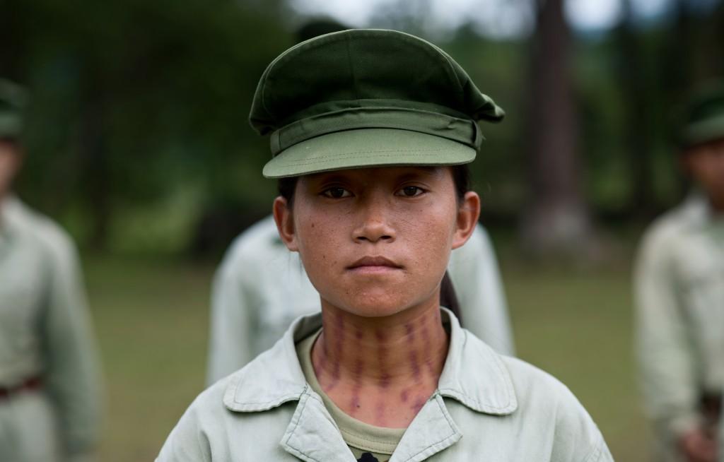 016 CANDELA, Miguel, Female Soldier
